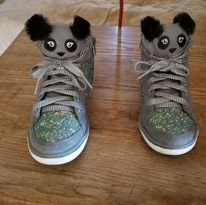 Girls Justice sneakers size 1